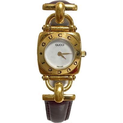 【スペシャルプライス】GUCCI Bordeaux belt Watch