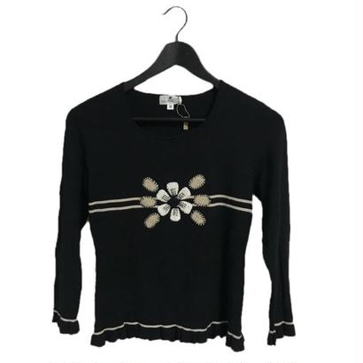 courreges flower design tops