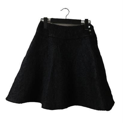 mohair skirt black