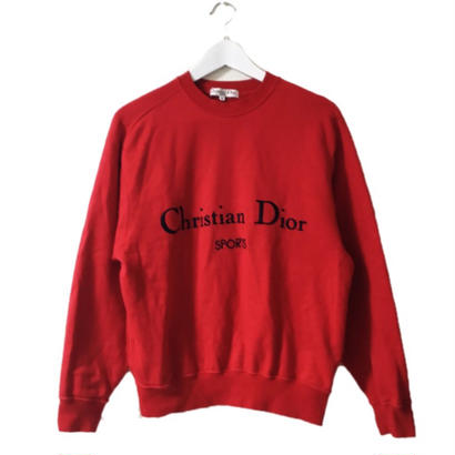 Dior logo tops red