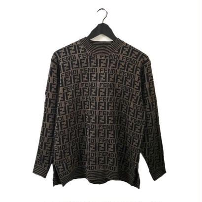 FENDI logo knit
