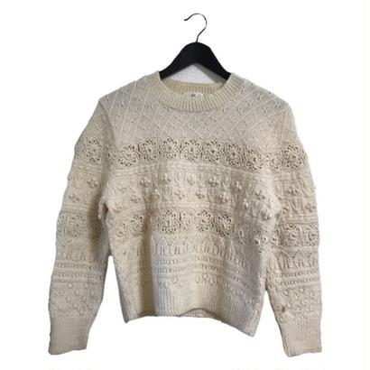 pon pon  design vintage knit