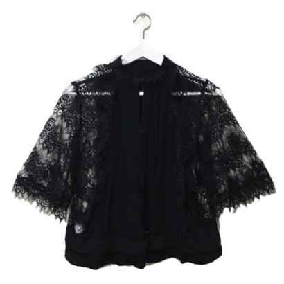 side lace blouse