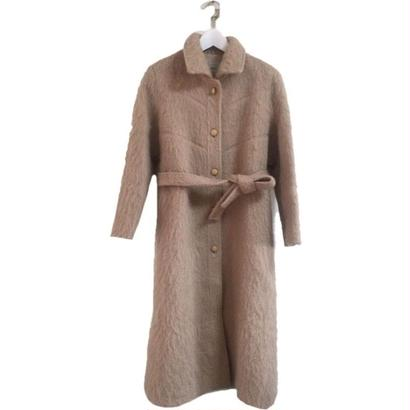 shaggy design long coat