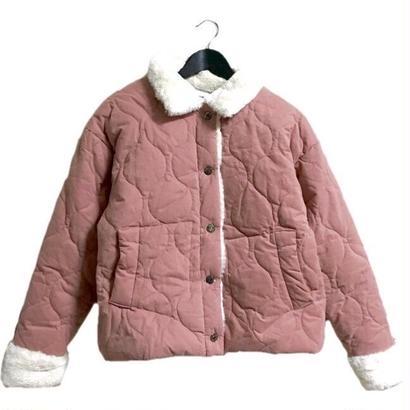 【スペシャルプライス】fur down coat dusty pink
