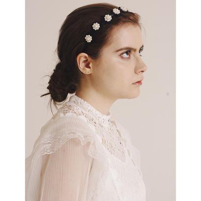 pearl flower hair accessory
