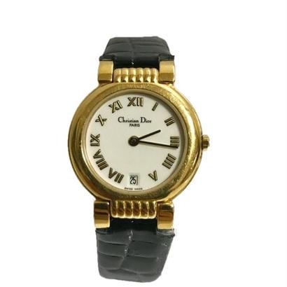Dior gold frame Watch