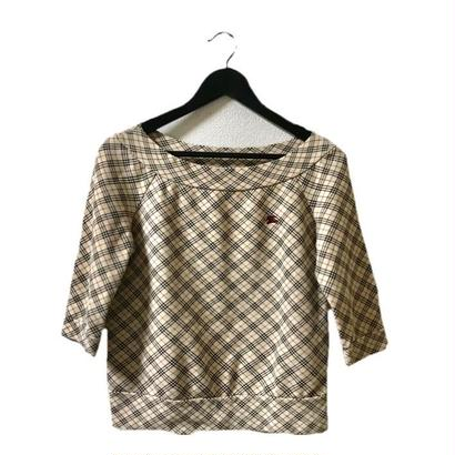 Burberry check sweat tops
