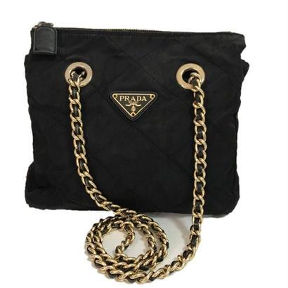 PRADA nylon chain bag
