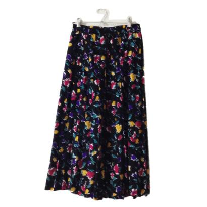 flower pleats skirt