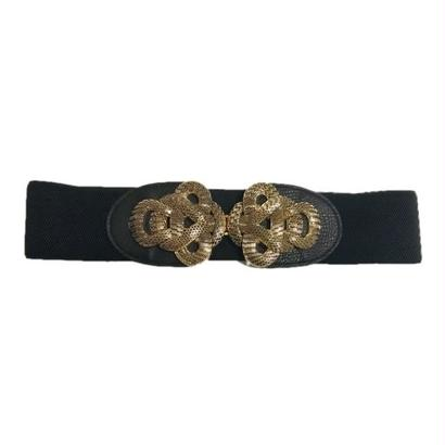 gold buckle design gom belt