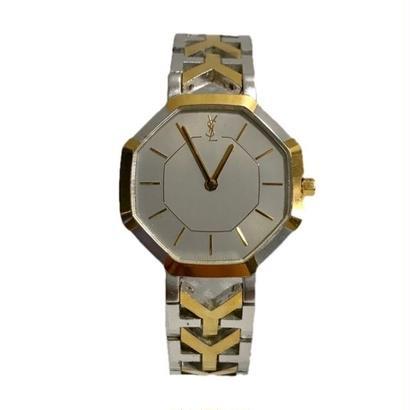 YSL  logo Ychain Watch