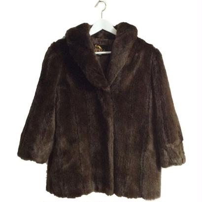 design fur coat blown