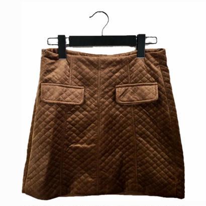 quilting design mini skirt