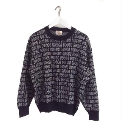 MCM logo knit black