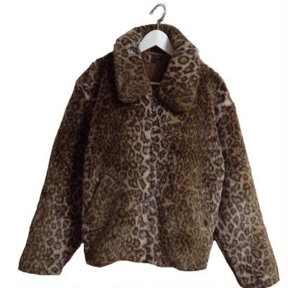 【スペシャルプライス】leopard fur coat