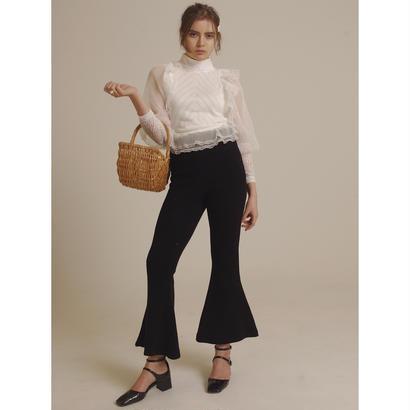 bell design knit pants black