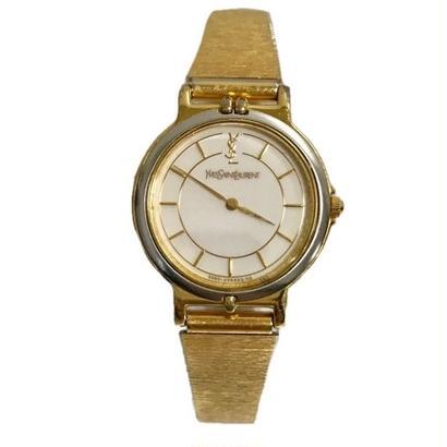 YSL gold chain design Watch