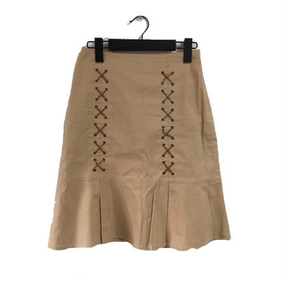 Burberry lace-up skirt