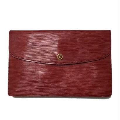Louis Vuitton Epi clutch bag