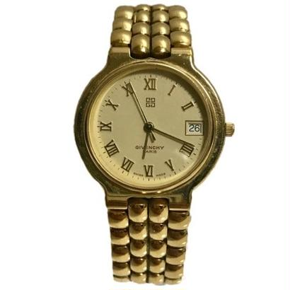GIVENCHY gold design watch