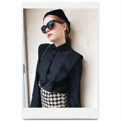 pleats design blouse