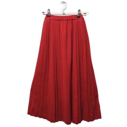 Dior knit pleats skirt