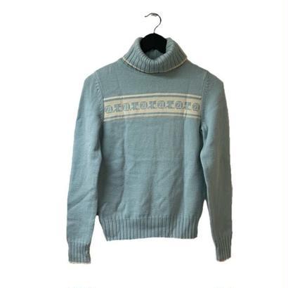 courrèges high neck logo design knit(No.3272)