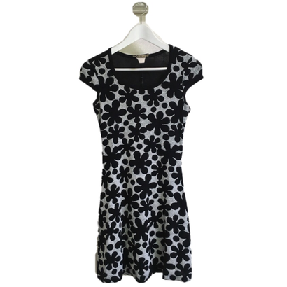 mini monotone flower one-piece