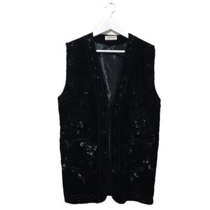 velours beads vest