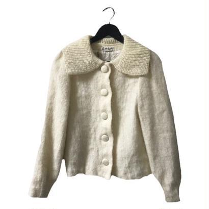 【スペシャルプライス】mohair knit cardigan ivory