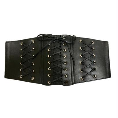 3lace up gom belt