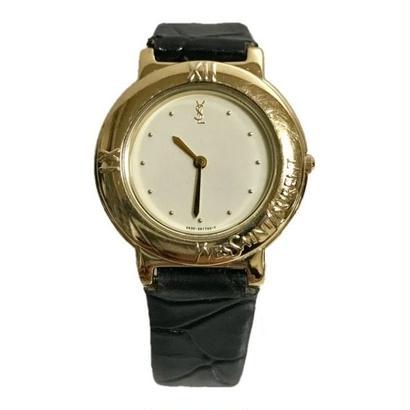YSL black belt gold Watch