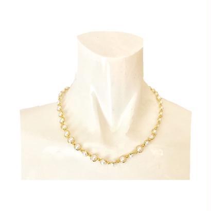 pearl design necklace