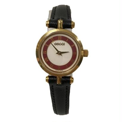 GUCCI sherry line design Watch red(No.3282)