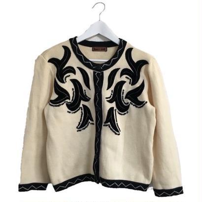 Yves Saint Laurent design knit cardigan