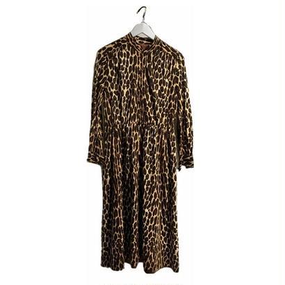 leopard wool onepiece
