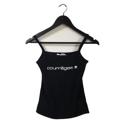 courrèges logo design camisole