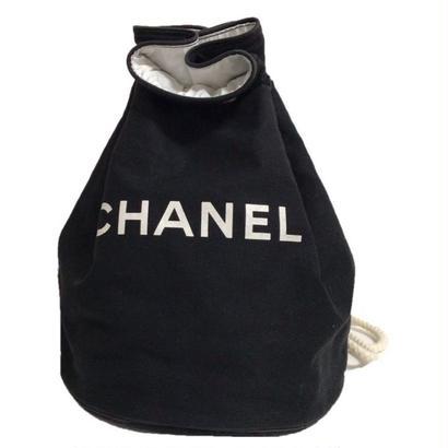 CHANEL logo knapsack bigsize