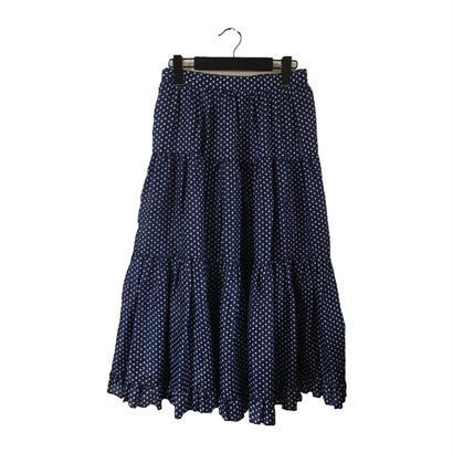 dot frill skirt