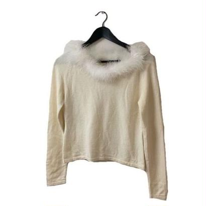 Miss chloé fur design knit tops(No.3243)