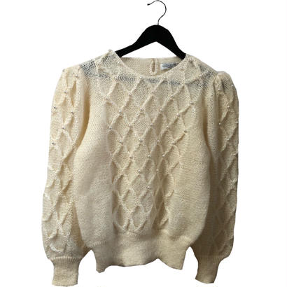 pearl quilting vintage knit
