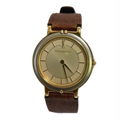 YSL brown belt design Watch
