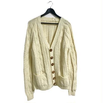 【スペシャルプライス】cable knit cardigan ivory