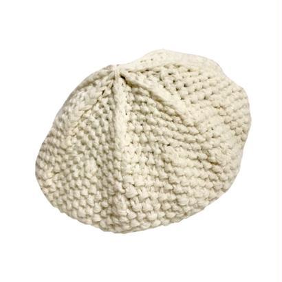 cable knit béret