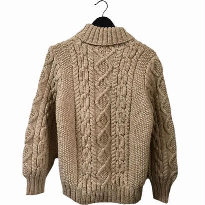 cable knit camel