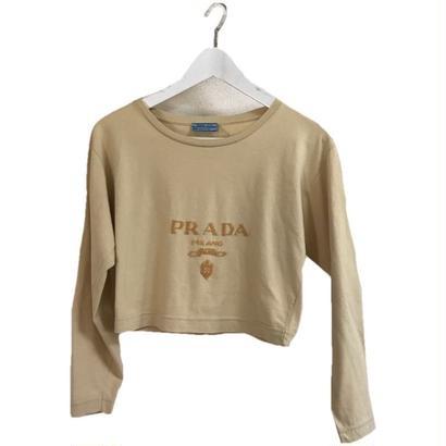 PRADA bijou logo design Tee