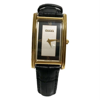 GUCCI  square design belt Watch