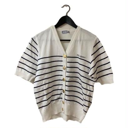 YSL border design cardigan(No.3241)