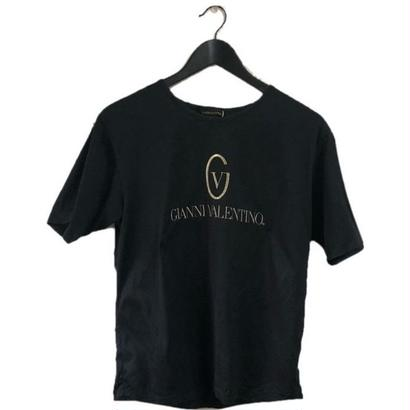 GIANNY VALENTINO embroidery tee black